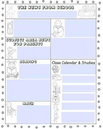 Editable Newsletters For Teachers Five Templates Free Pdf throughout Wise Owl Factory Editable Calendar Graphics