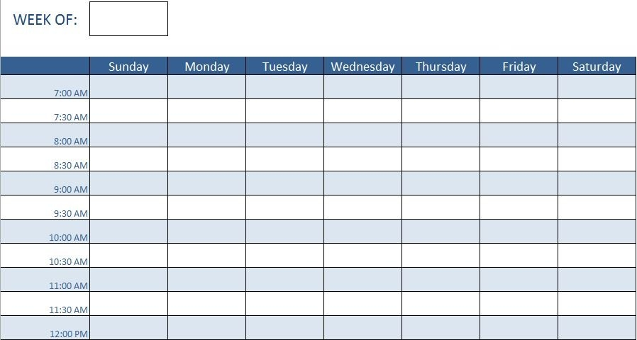 Employee Training Schedule Template In Ms Excel throughout Monthly Training Calendar Format