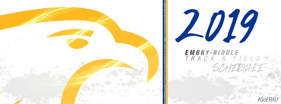 Erau Track & Field Announces Spring 2019 Schedule - Embry with regard to Embtry Riddle Daytona Academic Schedule Daytona Photo