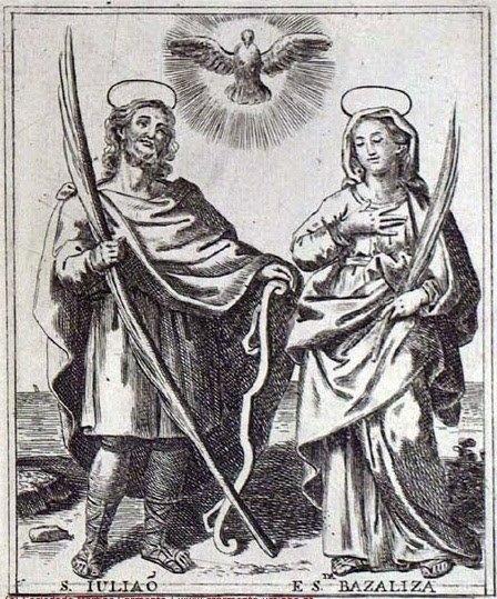 Escravas De Maria: 09 De Janeiro Dia Dos São Julião E Santa throughout Dia Juliao