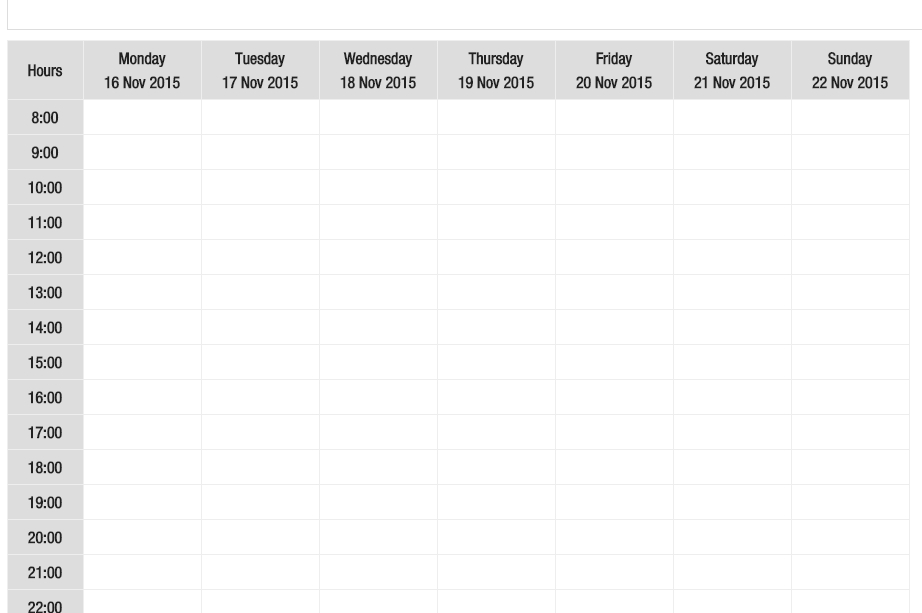 Fill The Calendar With Unix Time In Php - Stack Overflow for Calendar  With Time Photo