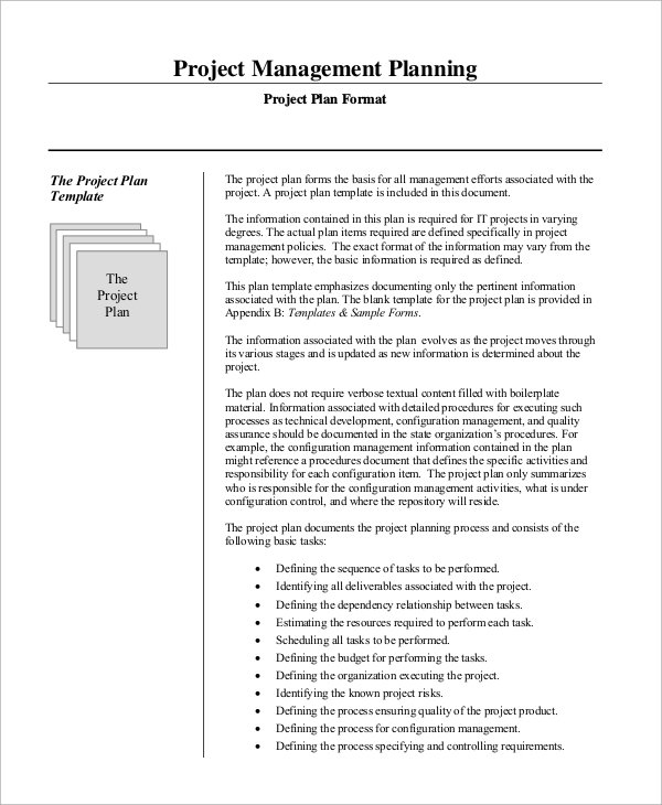 Free 15+ Sample Project Management Plan Templates In Ms Word with regard to Project Management Plan Sample Document
