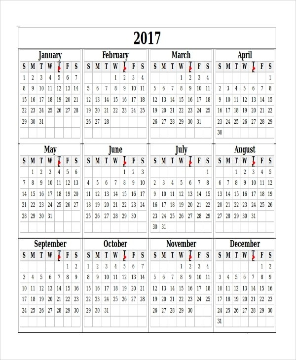 Free 6+ Sample Blank Printable Calendar Templates In Ms Word pertaining to Itsy Bitsy Fun Calendar Photo