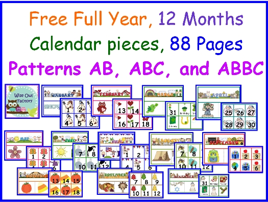 Free Calendar Numberscarolyn From Wise Owl Factory At with Wise Owl Calendars Image