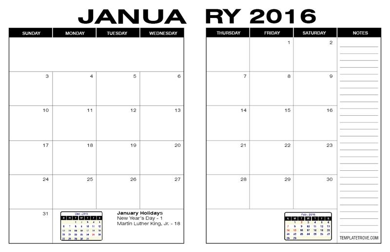 Free Calendars To Print | Pdf Calendars within 8 1/2 X 11 Blank Calendar Printable Photo
