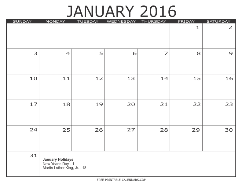 Free Calendars To Print | Pdf Calendars within 8 X 11 Blank Printable Calendar Graphics