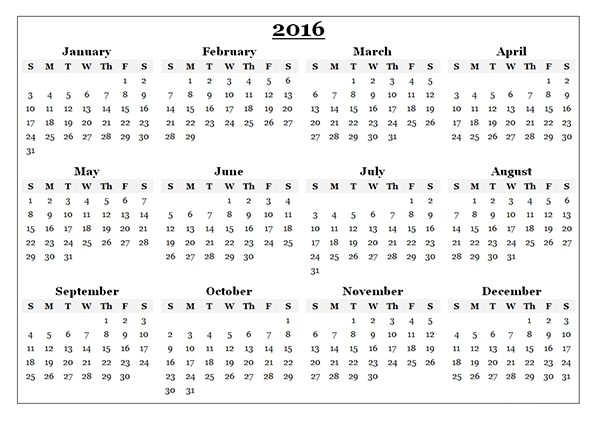 Free Download - 2016 Calendar Canada Printable | Calendar with regard to Free Triple Month Calendar Photo