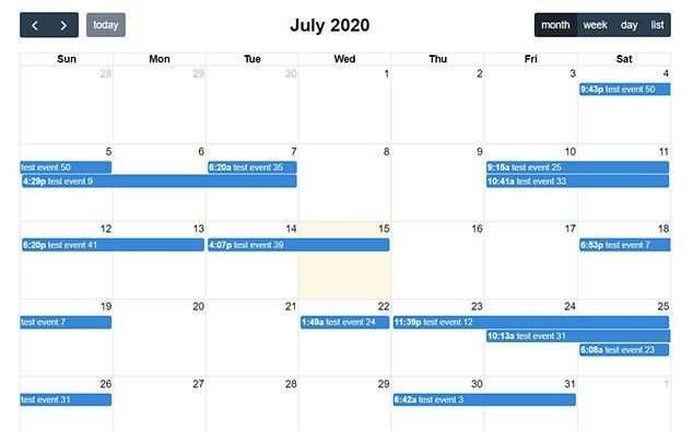 Free Event Calendar | Php Event Calendar Script | Phpjabbers regarding Access Database Events Calendar Free Image