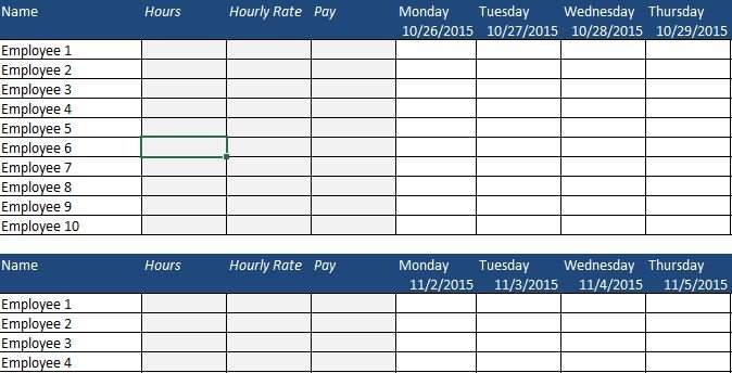 Free Human Resources Templates In Excel | Smartsheet for Calendar To Track Employee Time Off