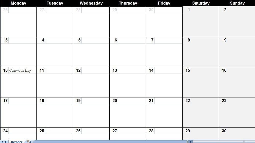 Free Large Printable Calendar (Dengan Gambar) pertaining to Free Printable Large Square Calendars