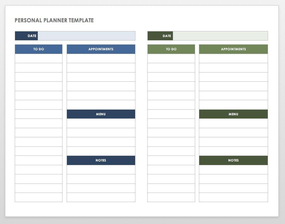 Free Printable Daily Calendar Templates | Smartsheet within Free Printable Single Day Calendars