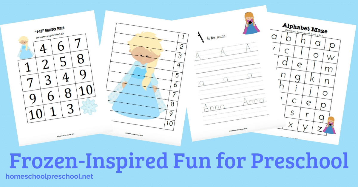 Free Printable Frozen Worksheets For Preschoolers pertaining to Print Out Frozen Printable Calendar