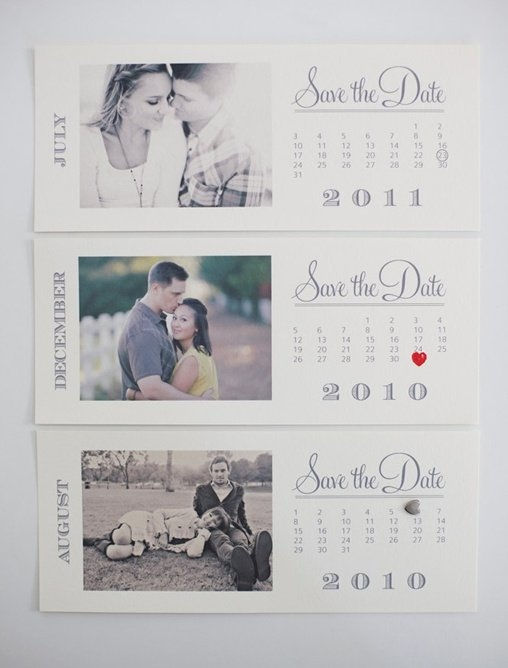Free Save The Date Templates | Photo Save The Date Calendar in Save The Date Printable Calendar Templates