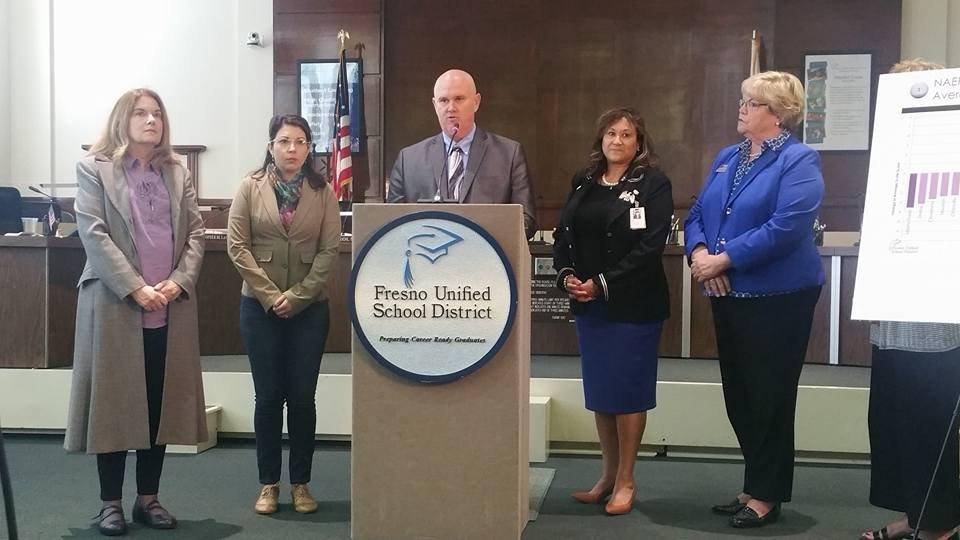 Fresno Unified Celebrates 2017 Naep Scores, Pledges Growth inside Fresno Unified Academic Calendar Graphics
