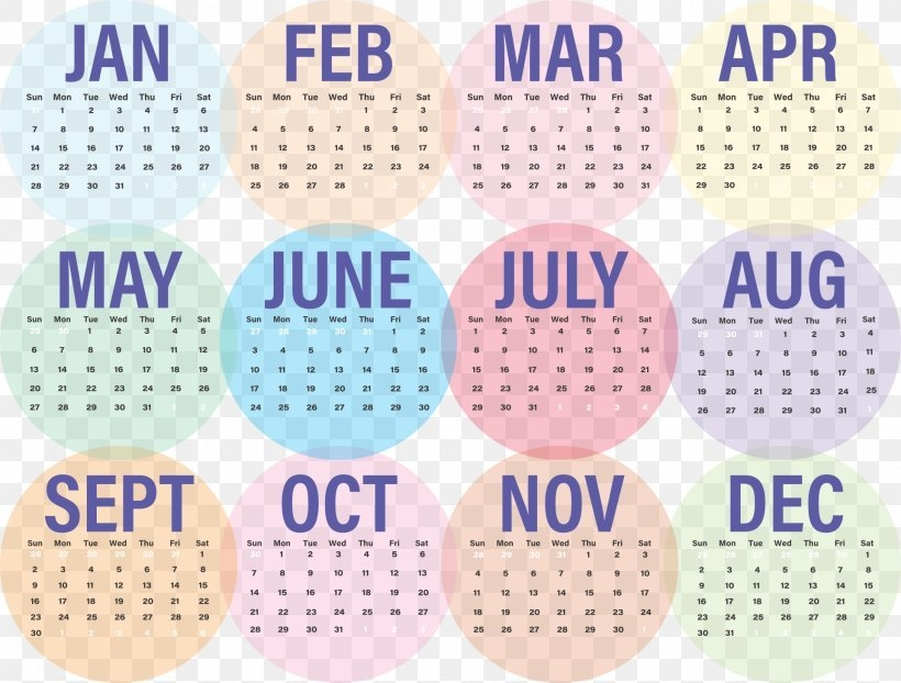 Google Calendar 0 Common Year 365-Day Calendar, Png in Calendar Showing 365 Days