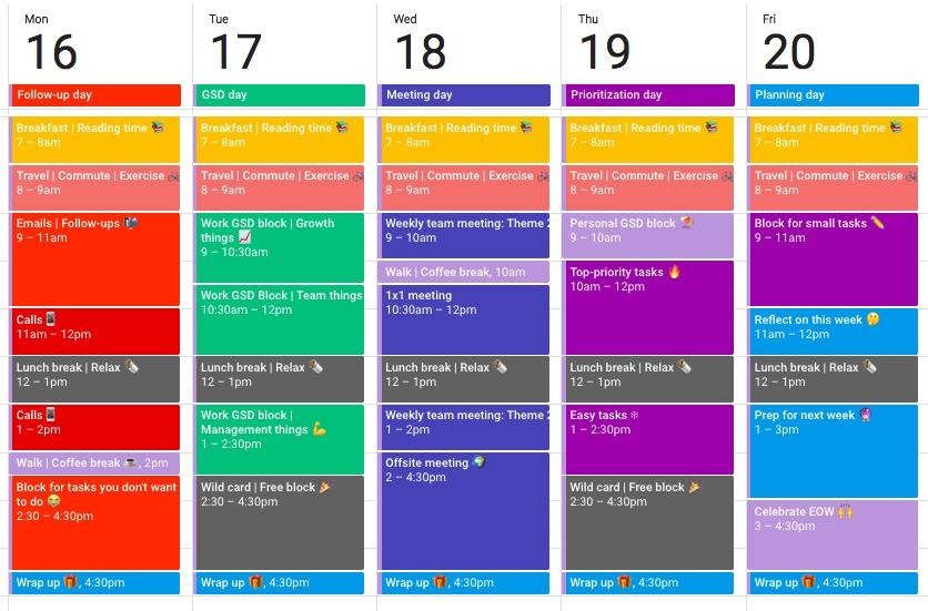 Google Calendar Hacks From 5 Ridiculously Productive inside Free Calendar For Calendar Blocking Graphics