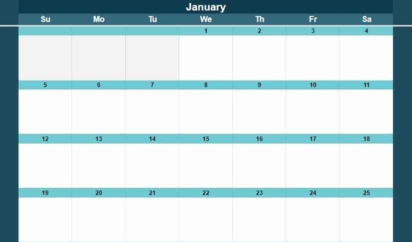Google Sheets Calendar Templates (Full-Size And Miniature) inside Easy Fill In Calendar Graphics