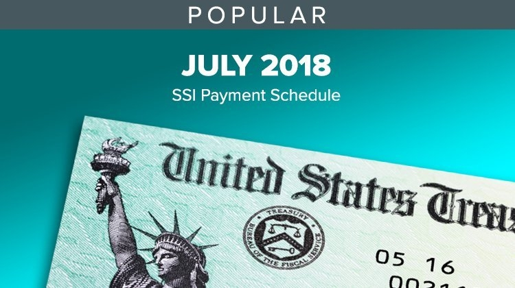 """Green Dot Bank® On Twitter: """"july's #ssi Social Security for Ssi Benefits Schedule Graphics"""