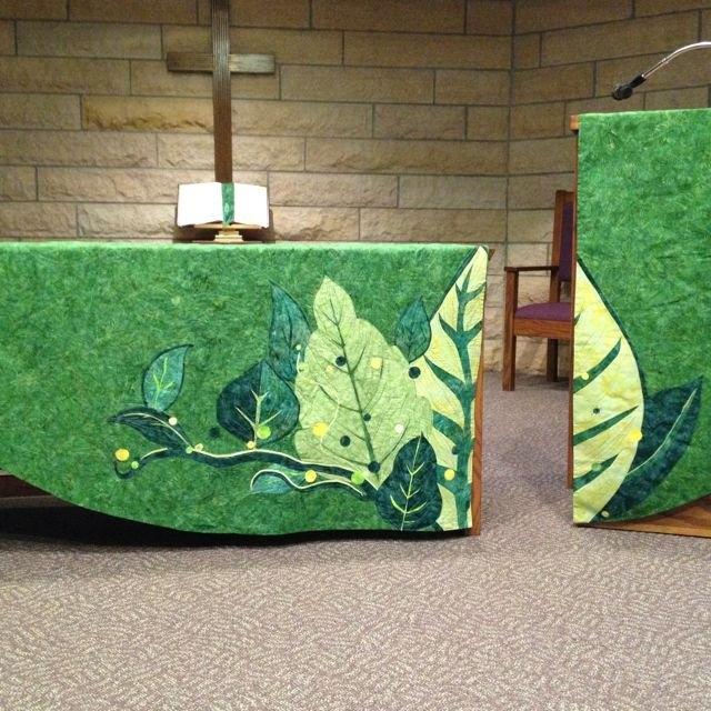 Green Season Chapel Paraments | Catholic Decor, Church pertaining to Schedule For Church Paraments For Methodist Church