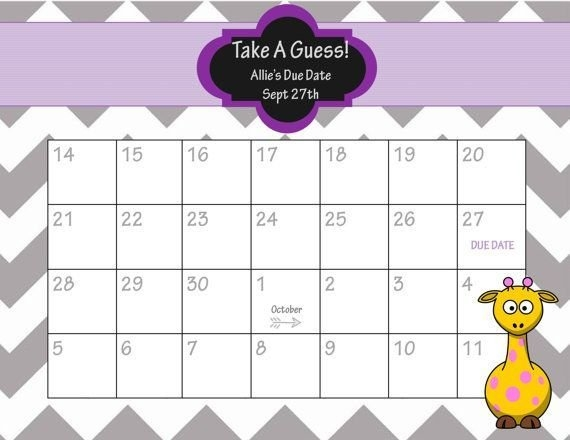 Guess The Face Quiz Printable – Jowo with regard to Guess The Due Date Calendar Template February 2020