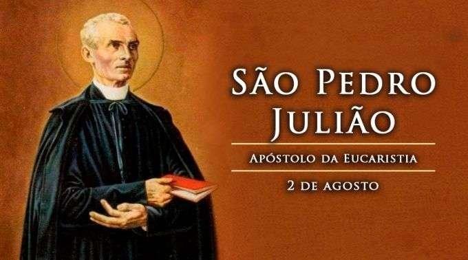 Hoje É Festa De São Pedro Julião, Apóstolo Da Eucaristia in Dia Juliao Image