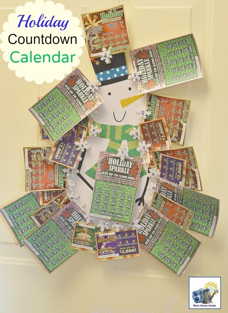 Holiday Countdown With Nj Lottery Holiday Instant Games with Lottery Calendar Ideas