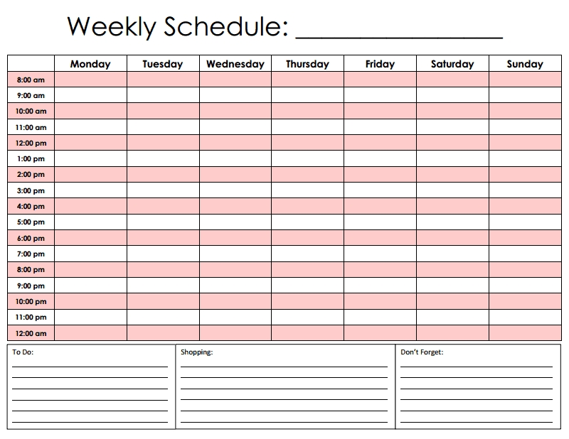 Hourly Schedule.pdf | Hourly Planner, Weekly Schedule within Conference Room Scheduling Caldendar Printable Pdf