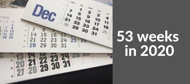 How Can 2020 Have 53 Weeks In The Year? - Rose Calendars News with Calendar With Numbered Days 365 Graphics