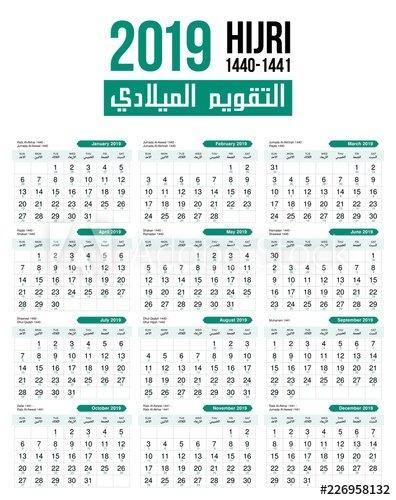 How The Islamic Calendar Counts Moon Phases & 2019 Ramadan Month in Hijri Calendar