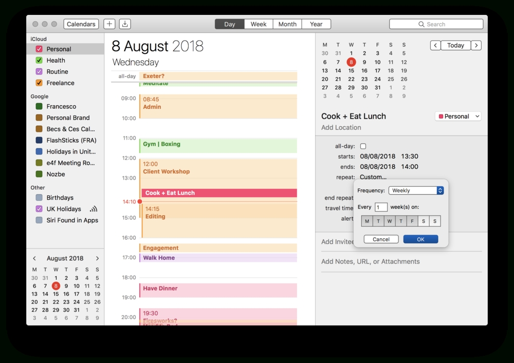 How To Calendar Block Your Week — Keep Productive pertaining to Free Calendar For Calendar Blocking