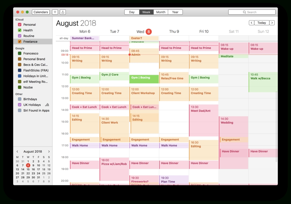 How To Calendar Block Your Week — Keep Productive regarding Free Calendar For Calendar Blocking Graphics