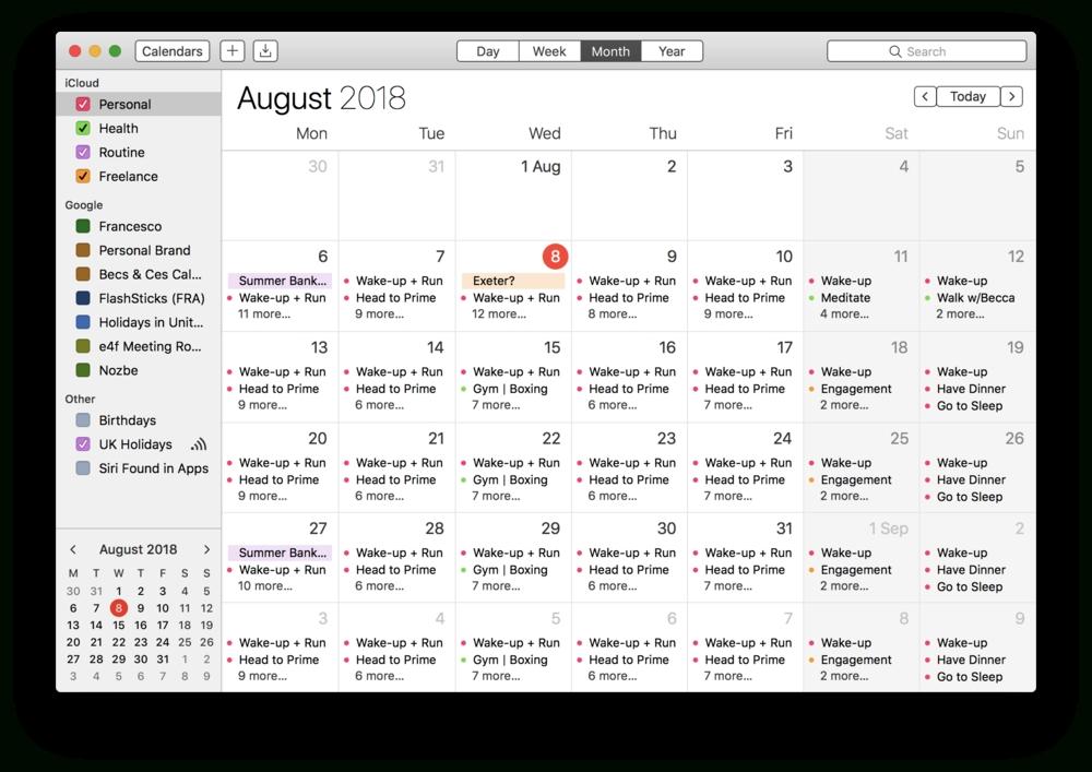 How To Calendar Block Your Week — Keep Productive with regard to Free Calendar For Calendar Blocking