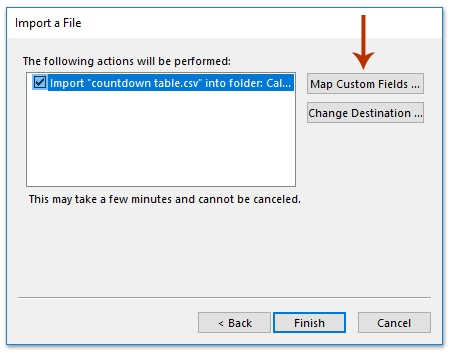 How To Create A Countdown (Clock) Calendar In Outlook? intended for 60 Day Short Timer Calander Image