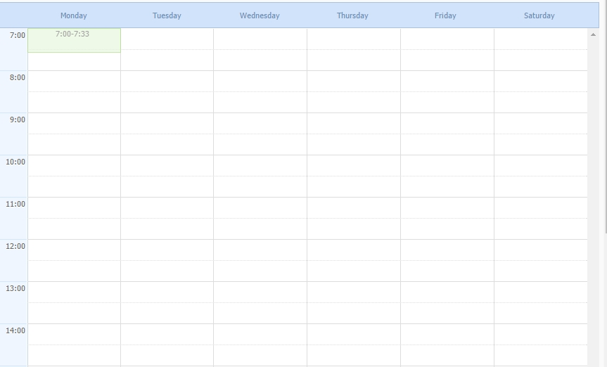How To Customize The Full Calendar For Weekday View? - Stack intended for Calendar With Only Weekdays Image