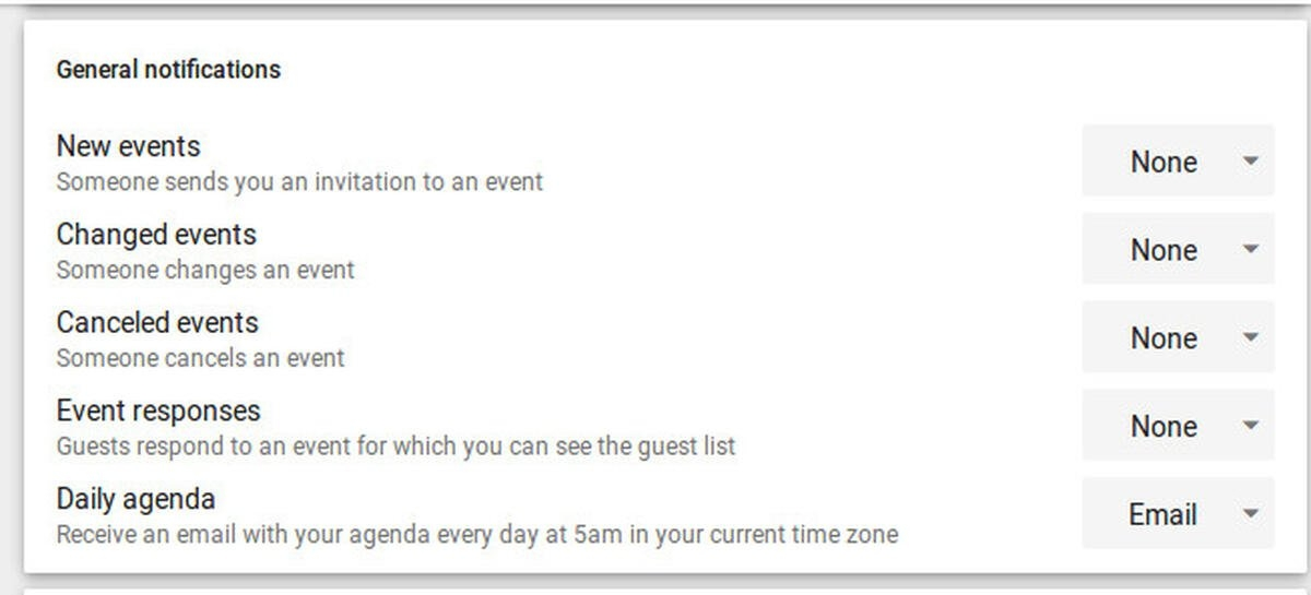 How To Customize Your Google Calendar Notifications within 60 Day Short Timer Calander