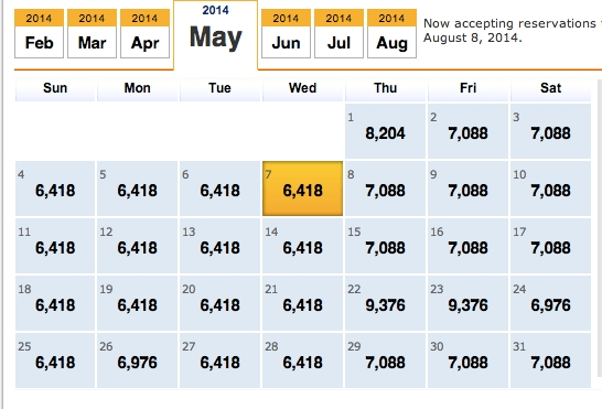 How To Fly To Disney For Free Using Southwest Frequent Flier with regard to Southwest Airlines Low Fare Calendar