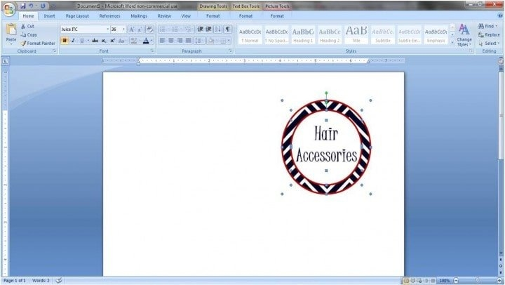 How To Make Pretty Labels In Microsoft Word for Guess Baby Birthday Printable Microsoft Word