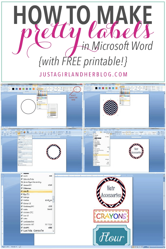 How To Make Pretty Labels In Microsoft Word in Guess Baby Birthday Printable Microsoft Word Photo