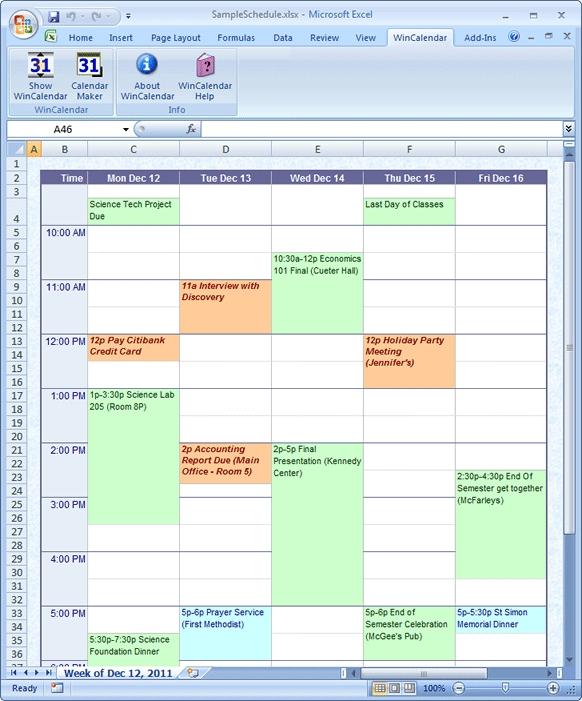 Import Google Calendar Into Excel And Word with Agenda Calendario Excel