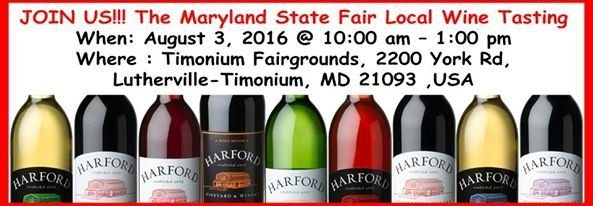 Join Us!!! The Maryland State Fair Local Wine Tasting When pertaining to Upcoming Events At Timonium Fairgrounds