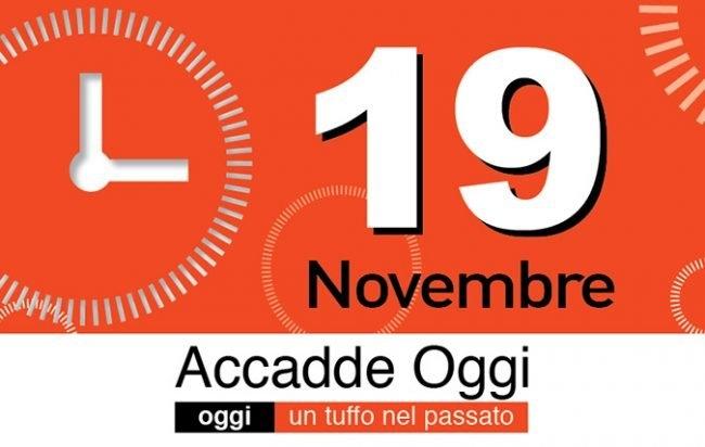 L'almanacco Del Giorno 19 Novembre. Accadde Oggi - L regarding Alice Goldwinn Calendario