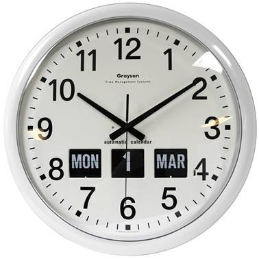 Large Dementia Clock With Calendar - Living Made Easy throughout Clocks For Dementia Graphics