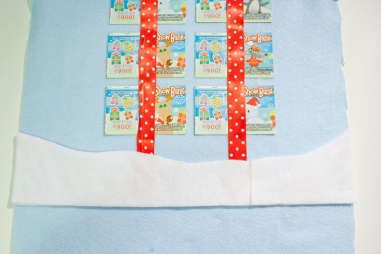 Lottery Ticket Advent Calendar | Chica And Jo | Lottery in Lottery Calendar Ideas