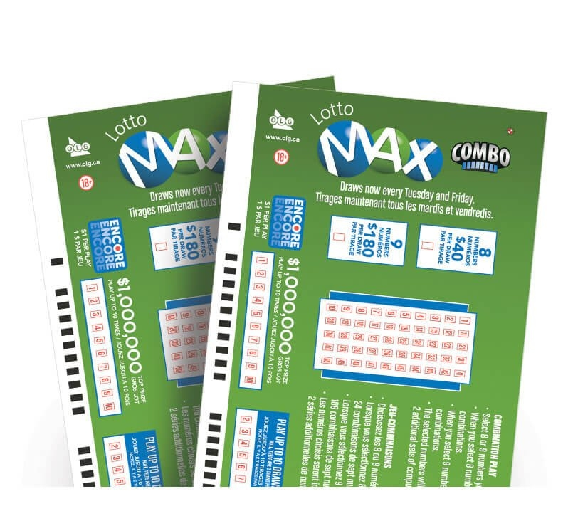 Lotto Max Combination Play | Olg within Lotto Bonus Number Raffle Template