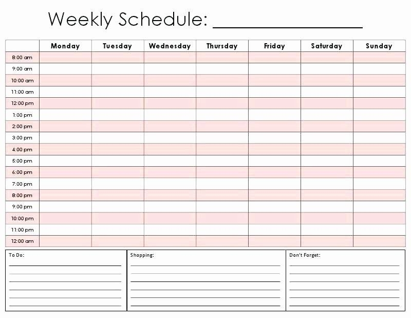 Lovely One Day Schedule Template In 2020 | Daily Schedule with Printable Single Day Calendar