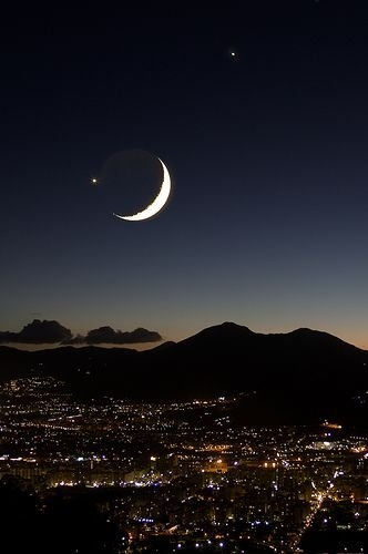 Luna Venere E Giove Su Palermo | Fotos De La Luna, Buenas within Foto De Lbluna