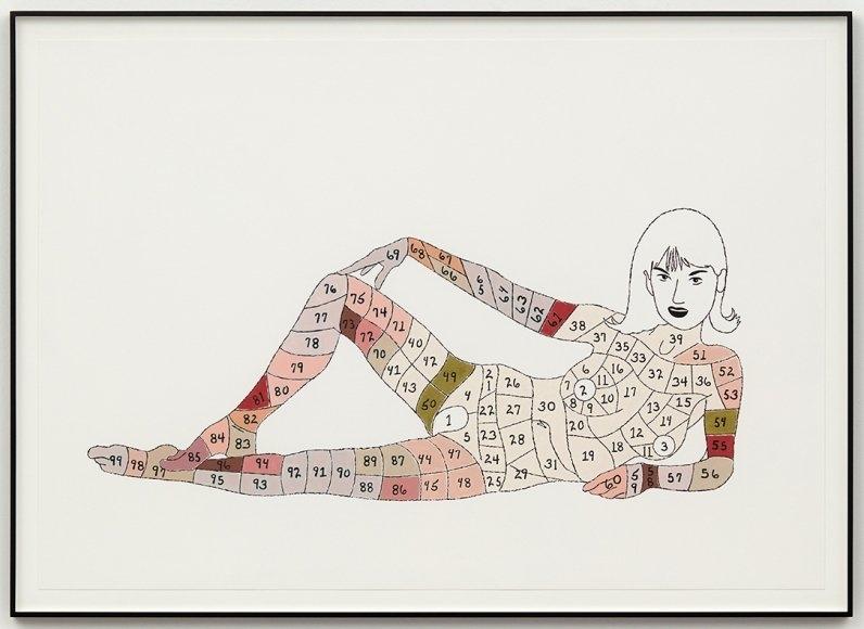 Matthew Brannon - Artist - David Kordansky Gallery with Short Timer Calendar