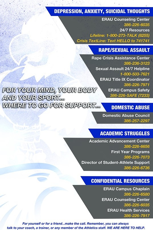 Mental Wellness Policy - Embry-Riddle Aeronautical regarding Embtry Riddle Daytona Academic Schedule Daytona Photo