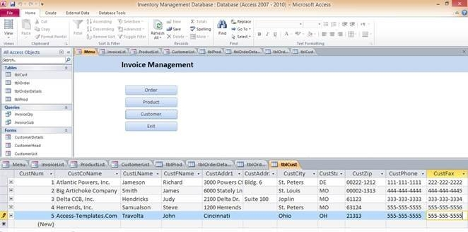 Microsoft Access Templates And Database Examples inside Free Microsoft Access Schedule Template