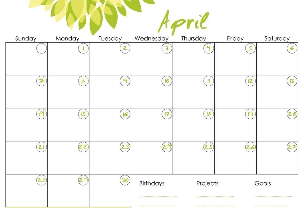 Monthly Calendars To Print And Fill Out 2016 with regard to Calendars I Can Fill Out Photo